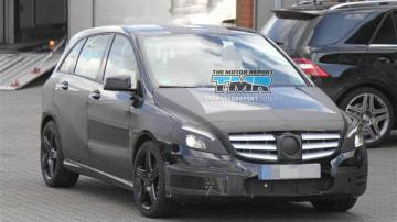 2013 Mercedes-Benz B AMG Spied Testing