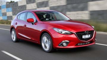 Mazda3 XD Astina hatch.