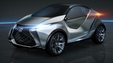 Lexus LF-SA Concept Officially Revealed In Geneva