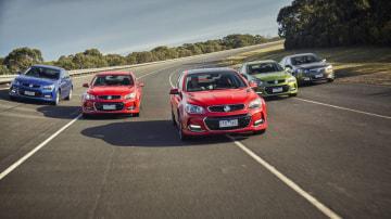 2016 Holden VFII Commodore range