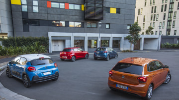 City car comparison test: Volkswagen Polo v Suzuki Swift v Mazda2 v Citroen C3