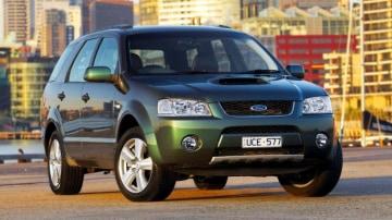 2006 Ford Territory Ghia Turbo.