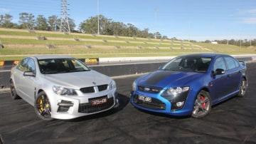 Australia's performance car kings: HSV GTS and FPV Falcon GT F.