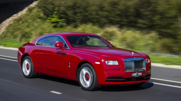 The new Rolls-Royce Wraith has helped drive growth in Australia.