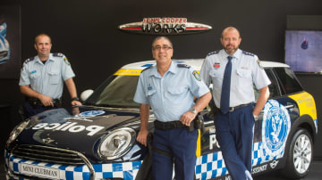 Mini Clubman Joins The Force In Newtown