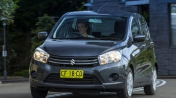 City car comparison: Suzuki Celerio