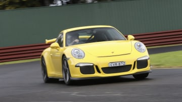 The Porsche 911 is the sportscar benchmark and the GT3 variant is the brand's most track-focused version.