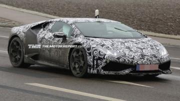 2015 Lamborghini Huracán Spied Testing