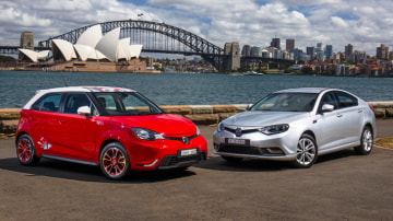 2016 MG6 and MG3 revealed - British brand returns ... again