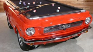 Ford Mustang pool table released