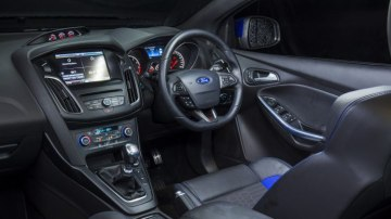 Inside the Ford Focus ST.