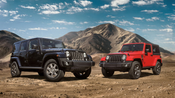 Jeep Wrangler special editions.