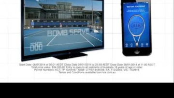 2014 Australian Open Tennis 'Game On' App A Win For Kia