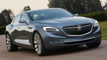 The Buick Avenir concept was revealed at the 2015 Detroit motor show.