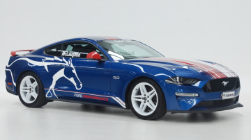 Ex-Promo Mustang to be sold for charity