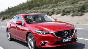 The Mazda6 has been given a mild makeover for 2015.