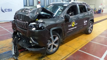 Euro NCAP releases safety ratings for 1 Series,  208, Cherokee