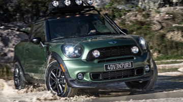 MINI Paceman Adventure: When Even Crossovers Cross Over