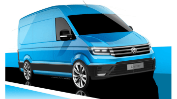 Volkswagen Readies 2017 Crafter Van For September Debut