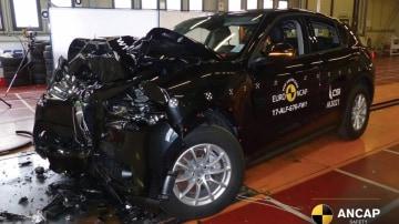 Alfa Romeo Stelvio crash testing