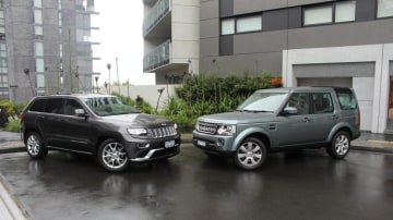 Jeep Grand Cherokee Summit Platinum v Land Rover Discovery