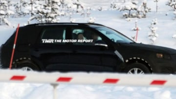 2011 Volkswagen Touareg Spied Winter Testing