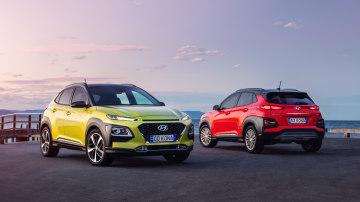 Hyundai Kona Highlander and Elite.