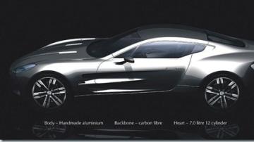 Aston Martin Releases Teaser Pic of £1million One-77