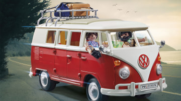 Playmobil launches Volkswagen T1 Camping Bus and VW Beetle