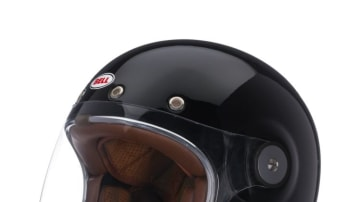 Hard knocks: The Bell Bullitt Solid has a removable and washable interior and padded chin strap.