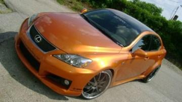 Fox Marketing and Artisan Preparing 600HP Lexus IS-F
