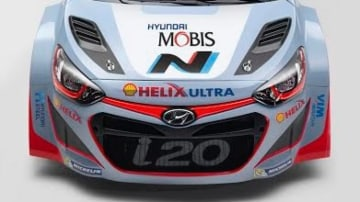 Hyundai's i20 WRC car was the first machine to wear N performance logos.