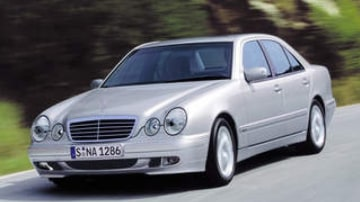 Picture supplied - source unknown.   Picture shows a Mercedes-Benz E-Class on the road.
