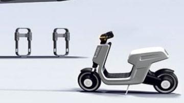 Volkswagen's e-Scooter concept