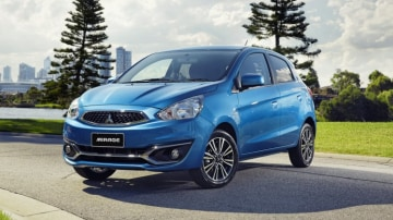 The updated Mitsubishi Mirage will take on other micro competitors like the Holden Spark and Suzuki Celerio.