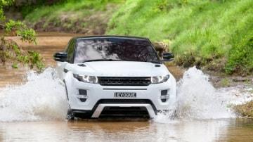 Range Rover Evoque coupe.