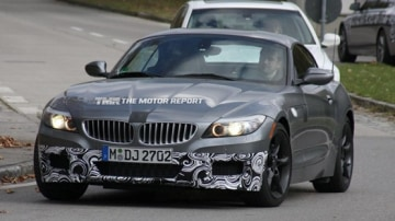 BMW Z4 Equipped With M Sport Package Spied Testing