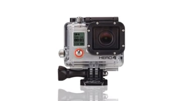 GoPro4 camera.