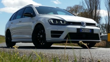2015 Golf R Wagon Review - Carries A Pack, Goes Like A Scalded Cat
