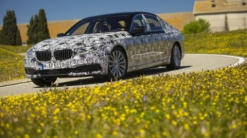 BMW 7-Series prototype preview drive