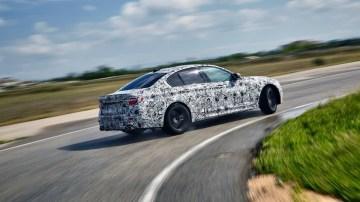 2018 BMW M5.
