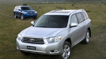 2007 Toyota Kluger press release