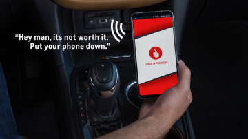 Positive peer pressure for safer driving