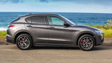 Luxury SUV comparison: Alfa Romeo Stelvio.