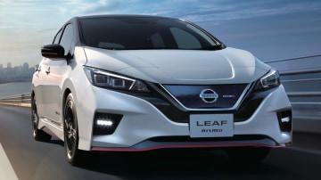 Nissan reveals electric Leaf Nismo