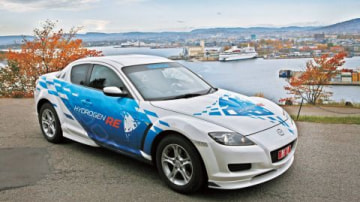 Hydrogen Powered Mazda RX-8 Hits The Road In Norway