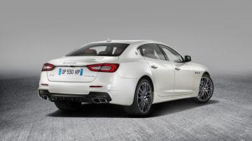 2017 Maserati Quattroporte GTS GranSport.