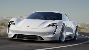 The Porsche Mission E concept.