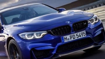 2017 BMW M4 CS.