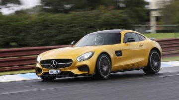 The new Mercedes-AMG GT S differentiates itself by blending blistering performance with a luxury interior.